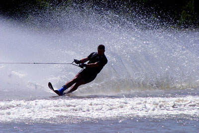 Chicago Water skier Locked out of House